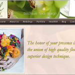 Sharp Looking Floral Design Websites