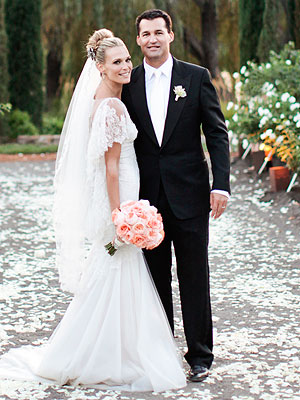 Celebrity Wedding Flowers – Molly Sims