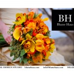 The Blume Haus Logo and Print AD