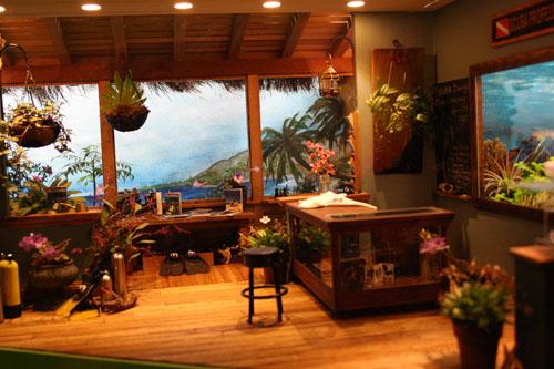 Miniature displays & more flower arrangements of Philadelphia Flower Show