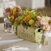 rustic style flower arrangement
