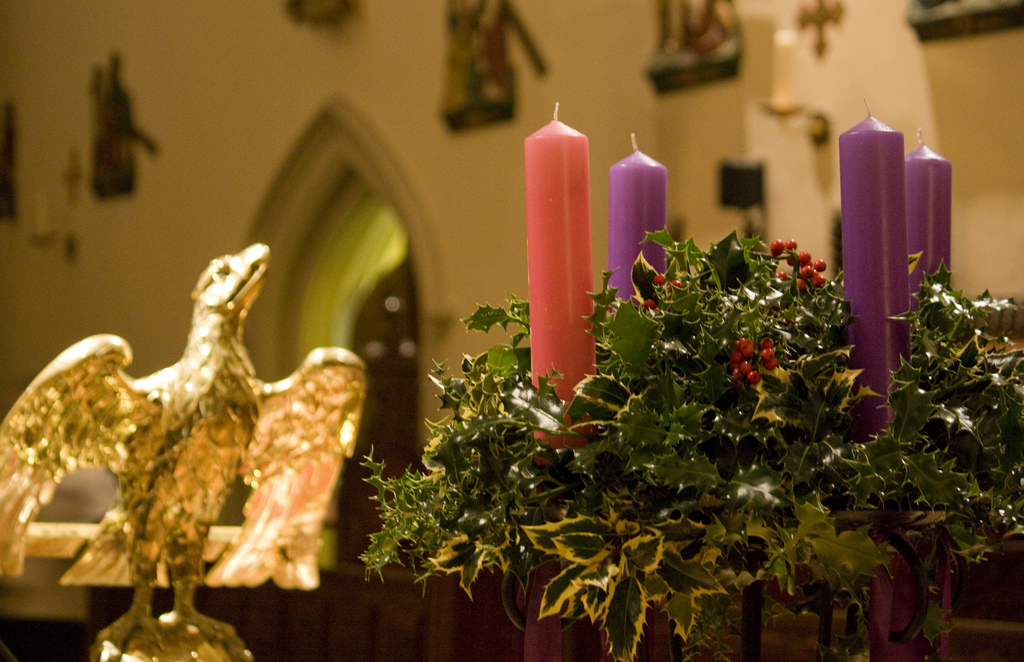 Advent Candle Colors - Beautiful decorated candles