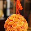 Orange spray rose pomander