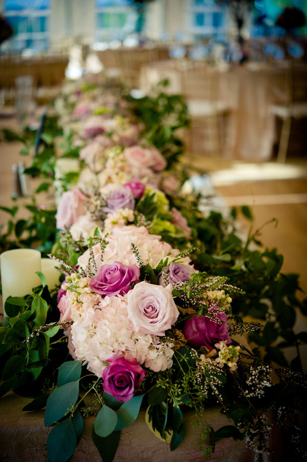 head table flower design