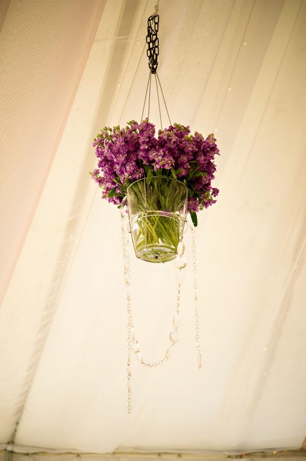 hanging arrangement of stock