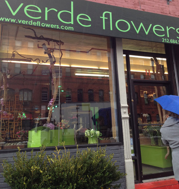 verde flower shop bronx