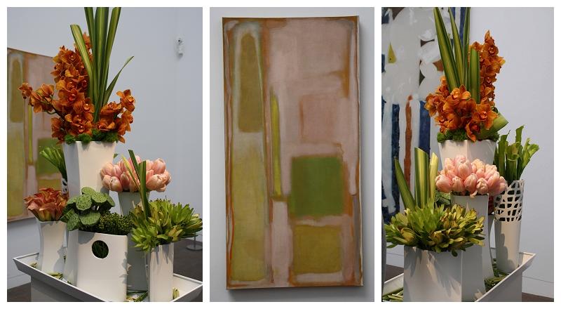 Floral Designer: Soulflower Design Studio Art Piece: Mark Rothko