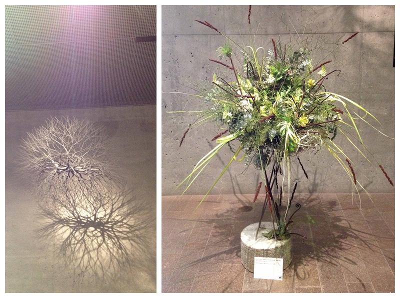 Floral Designer: Alena Jean. Art Piece: Ruth Asawa, Untitled