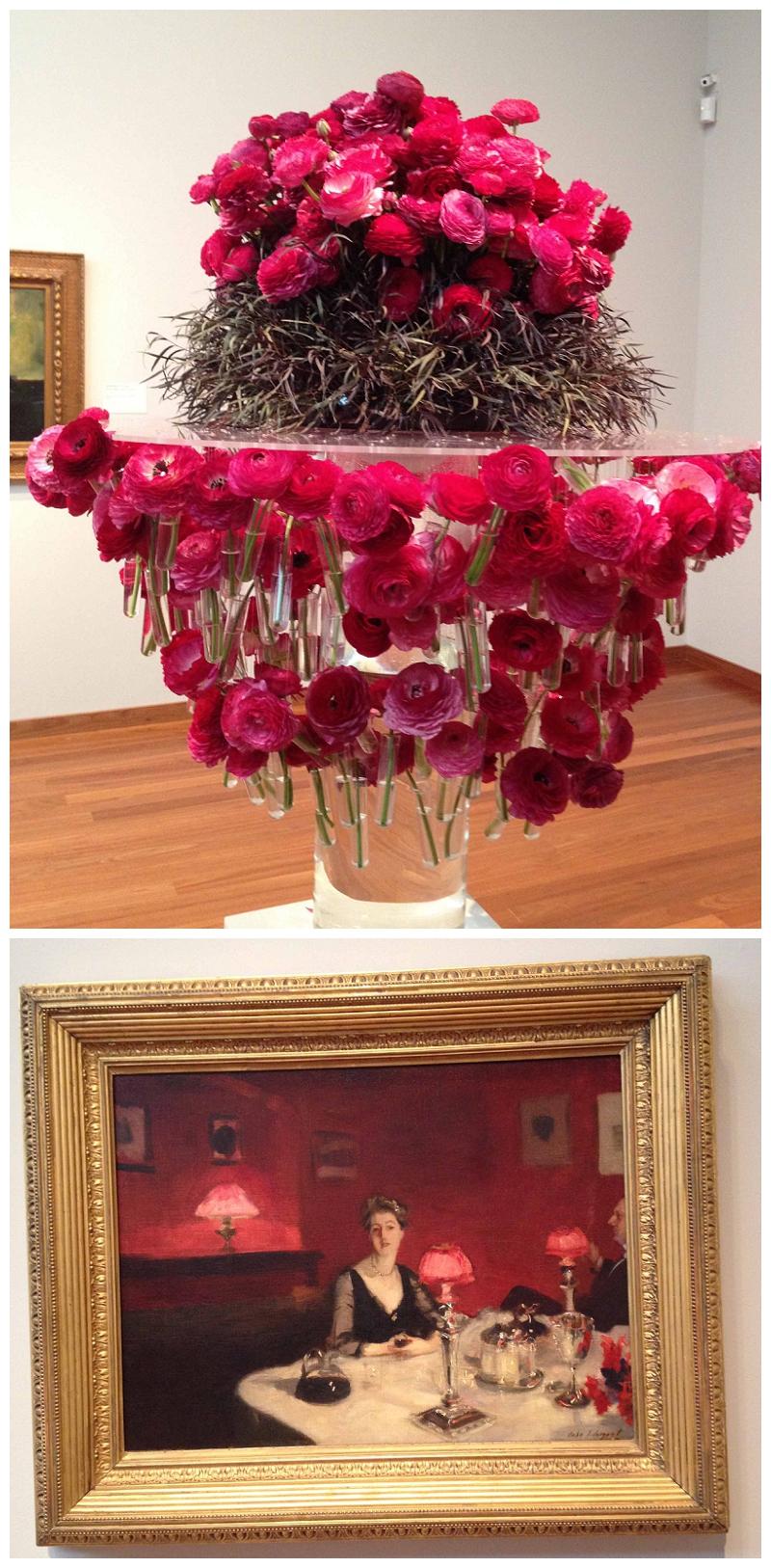 Flower Designer and Art Piece: Unknown