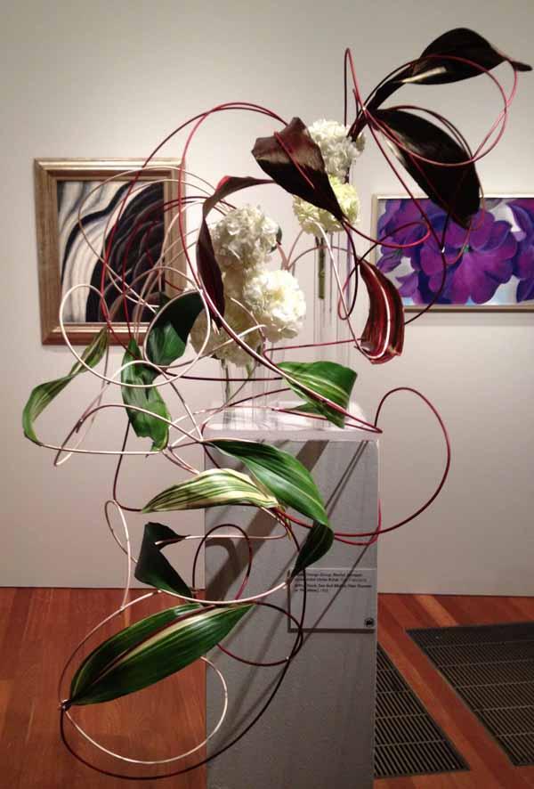 Floral Designer: Renka Design Group. Art Piece: Arthur Dove, Sea Gull Motive