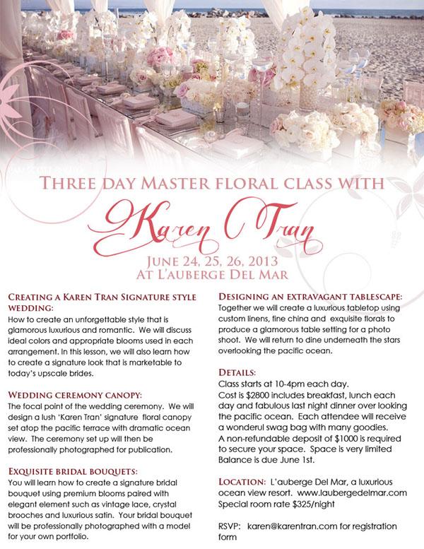 Karen Tran Master Design Class
