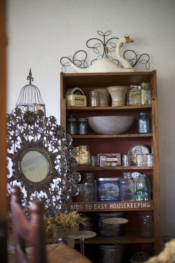 antiques at farm house