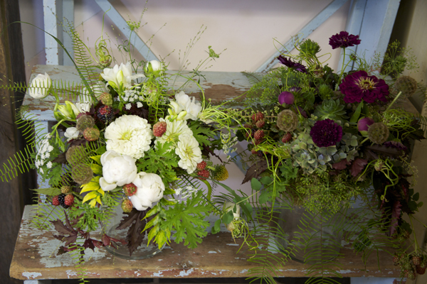 woodland bridal bouquets