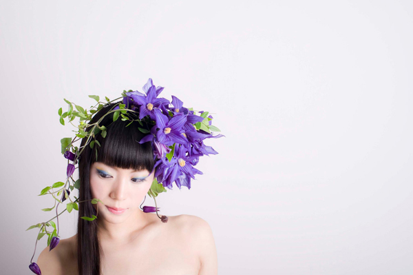 clematis flower crown