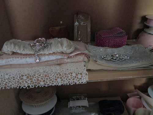 lace ribbon storage