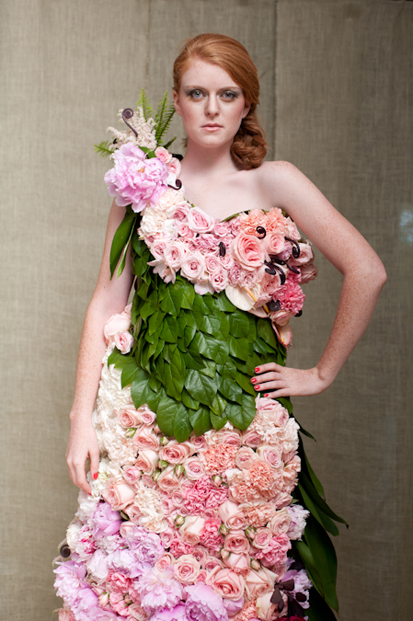 A Dress of Flowers by Emily Carter
