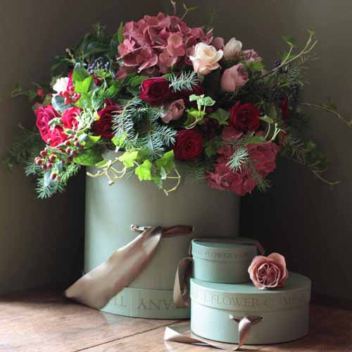 english floral design