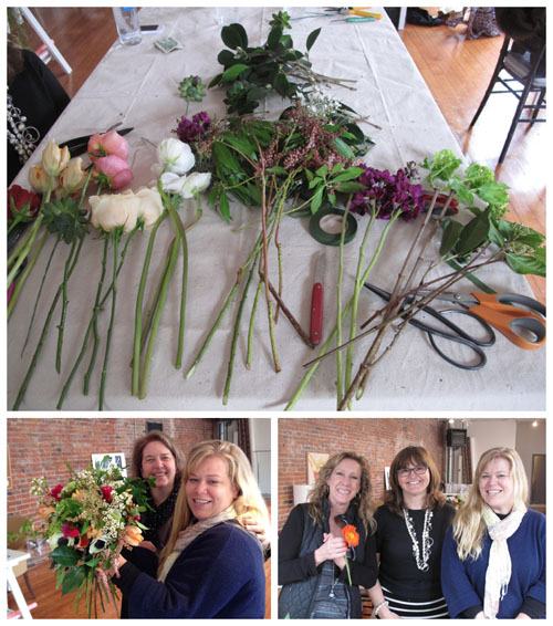 flirty fleurs floral designer workshop in Seattle
