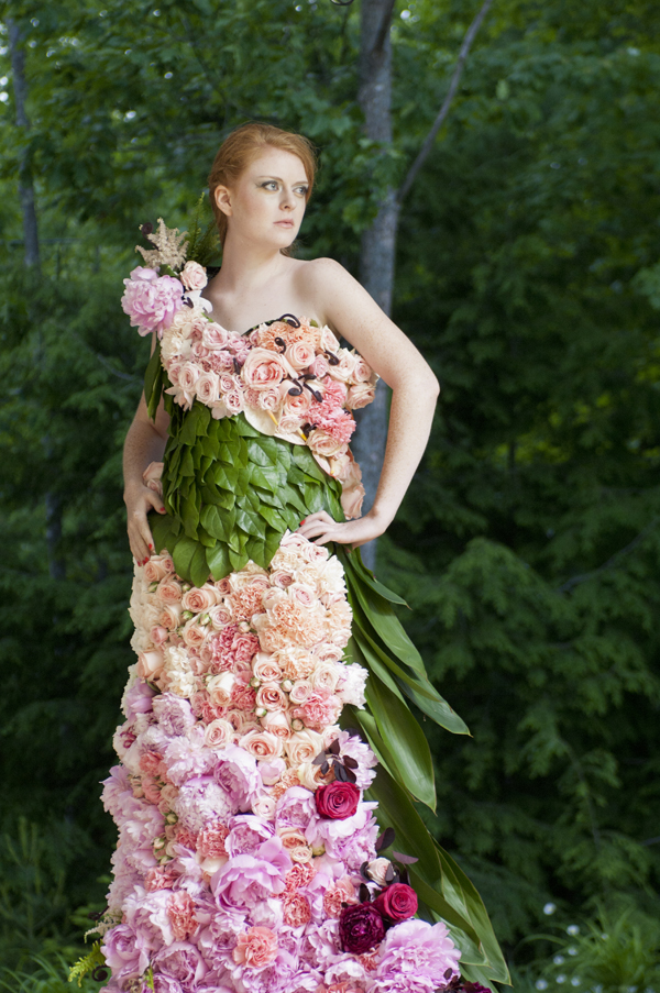 A Dress Of Flowers By Emily Carter Flirty Fleurs The