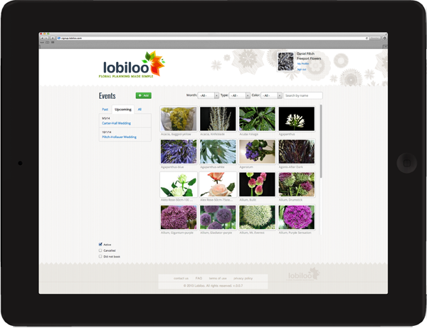 Introducing Lobiloo Software for Floral Designers