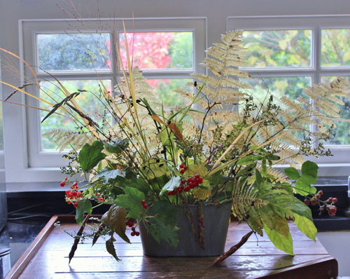 all foliage centerpiece