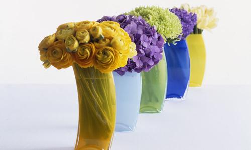 modern flower arrangement