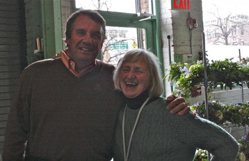 3/19 - Joost of Florabundance & Francoise Weeks, New York City