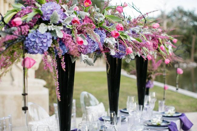 unique wedding reception head table decor
