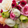 Alison Ellis of Floral Artistry in Vermont, hand-tied bouquet of Roses