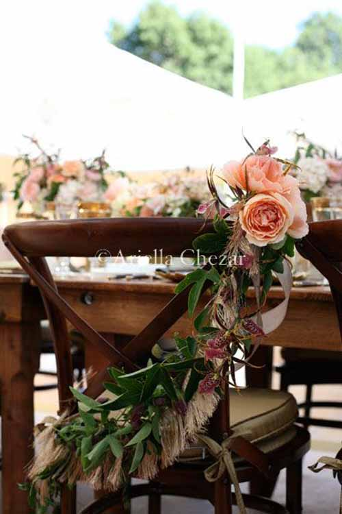 Wedding Wednesday :: Bride & Groom Chairs