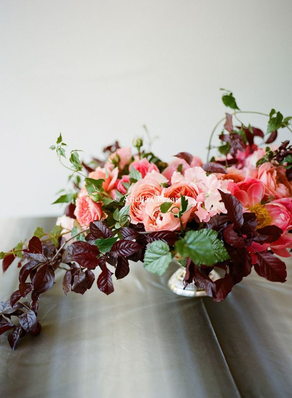 Wedding Wednesday :: Coral Floral Inspiration
