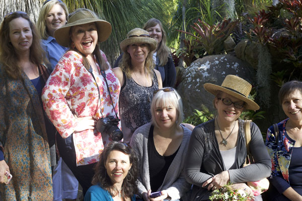 Florists visit Lotusland