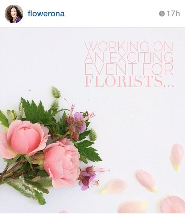 Flowerona on instagram