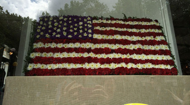 Chelsea In Bloom - American Flag