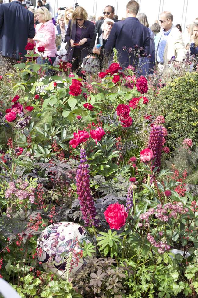 RHS Chelsea Flower Show - Red Garden