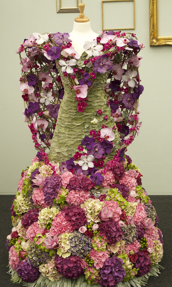 Rhs chelsea flower show floral dresses flirty fleurs the florist
