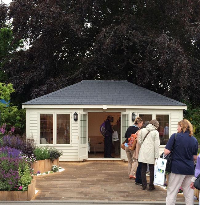 RHS Chelsea Flower Show - garden studio