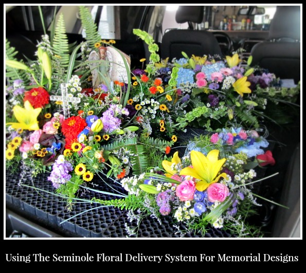 How do deliver flowers via Summer Thyme Floral Designs