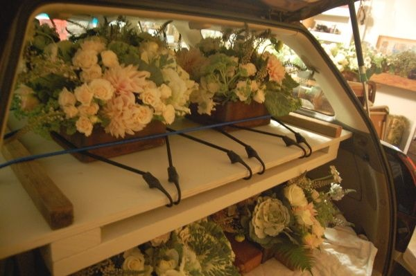Transporting Flower Arrangements