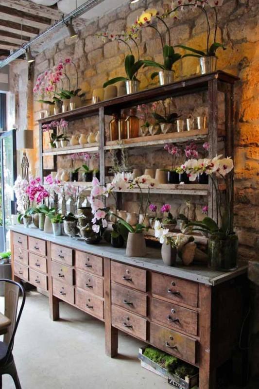 Eric Chauvin Flower Shop, Paris