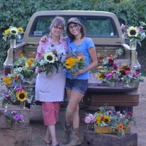 Karen & Karly from Verbena Flowers & Trimmings, Roseville, California