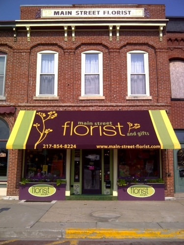Main Street Florist in Carlinville