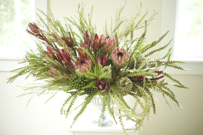 Bella Fiori design with Resendiz Brothers Protea Farm Materials