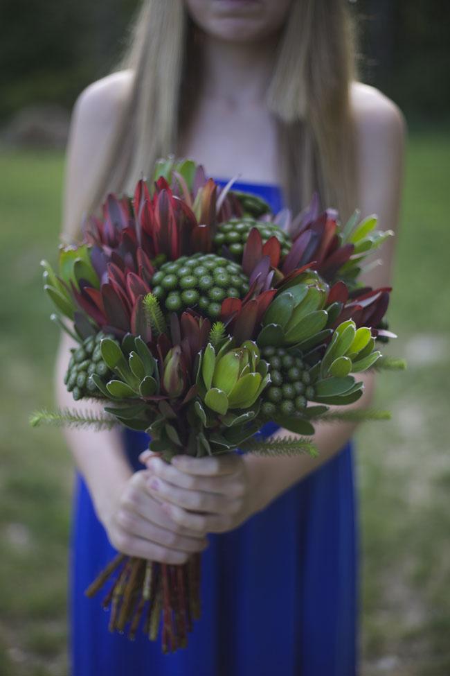 Bella Fiori - Bouquet with Leucadendron and Brunia