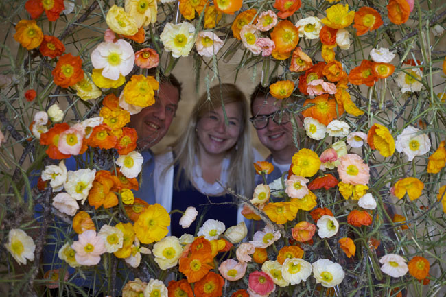 Florabundance Design Days & Chapel Designers Conference - Joost, Holly & Joe