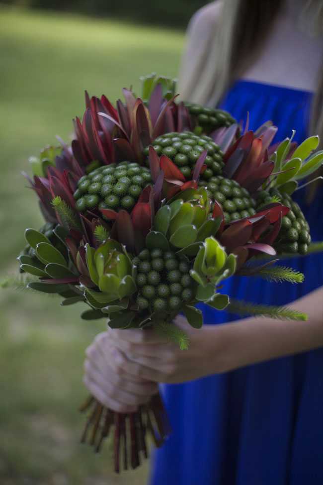 Resendiz Brothers Protea Farm - Leucadendron and Brunia Bouquet