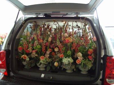 Bella Fiori - transporting flowers