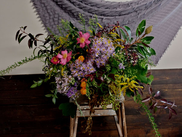 Gertie Mae's Floral Design - foraged fall design