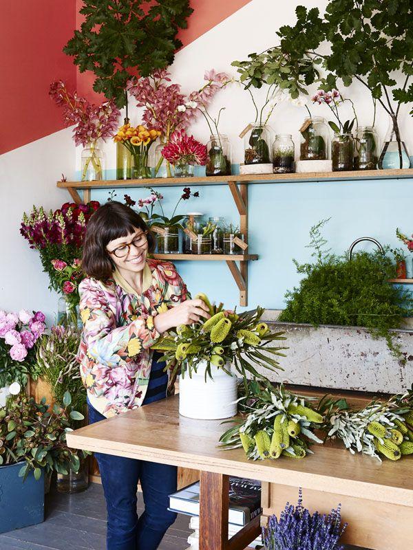 Melbourne florist Melanie Stapleton