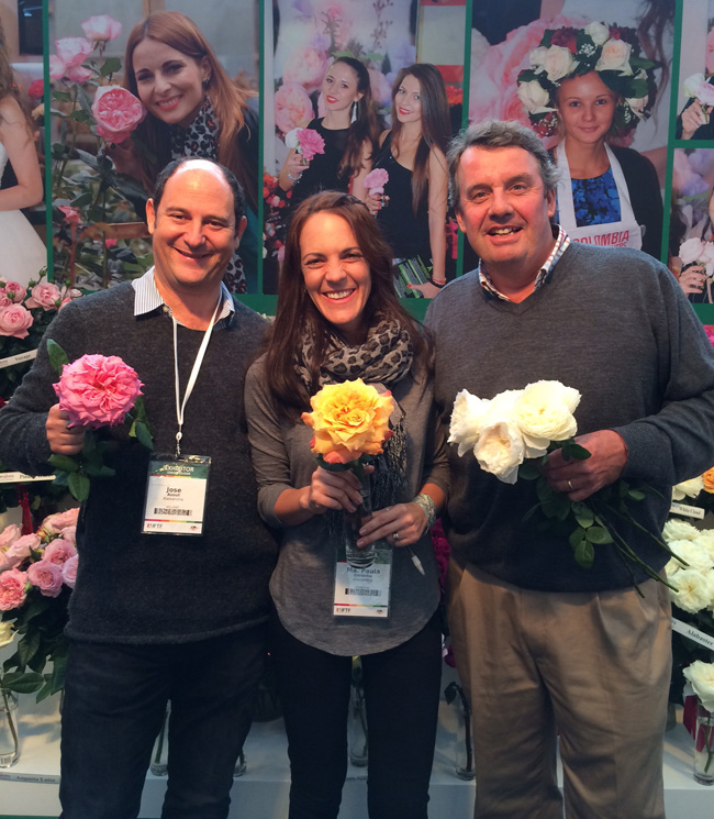 Alexandra Farms and Florabundance at IFTF in Holland